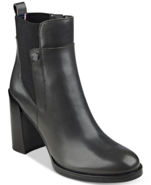 Tommy Hilfiger Britton Ankle Booties Women's Shoes