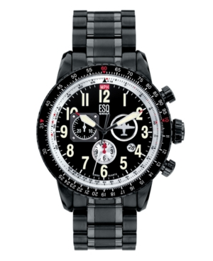 ESQ by Movado Watch, Men's Beacon Chronograph 07301239