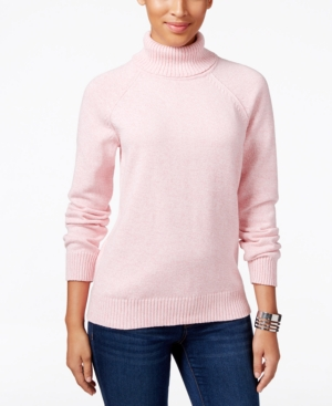Karen Scott Marled Turtleneck Sweater Only at Macys $46.50 AT vintagedancer.com