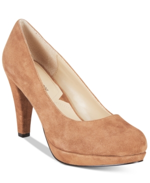 Adrienne Vittadini Prestin Platform Pumps Women's Shoes