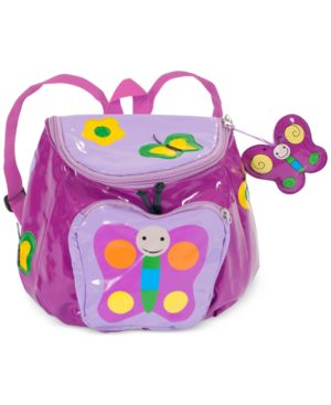 Kidorable Little Girls' Butterfly Backpack