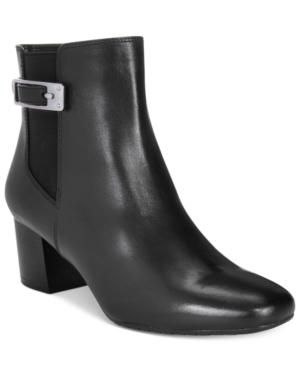 Bandolino Lethia Block-Heel Booties