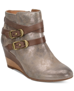 Sofft Oakes Crisscross-Strap Booties Women's Shoes