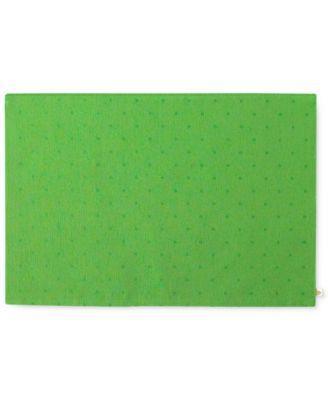 kate spade new york Larabee Dot Green Placemat