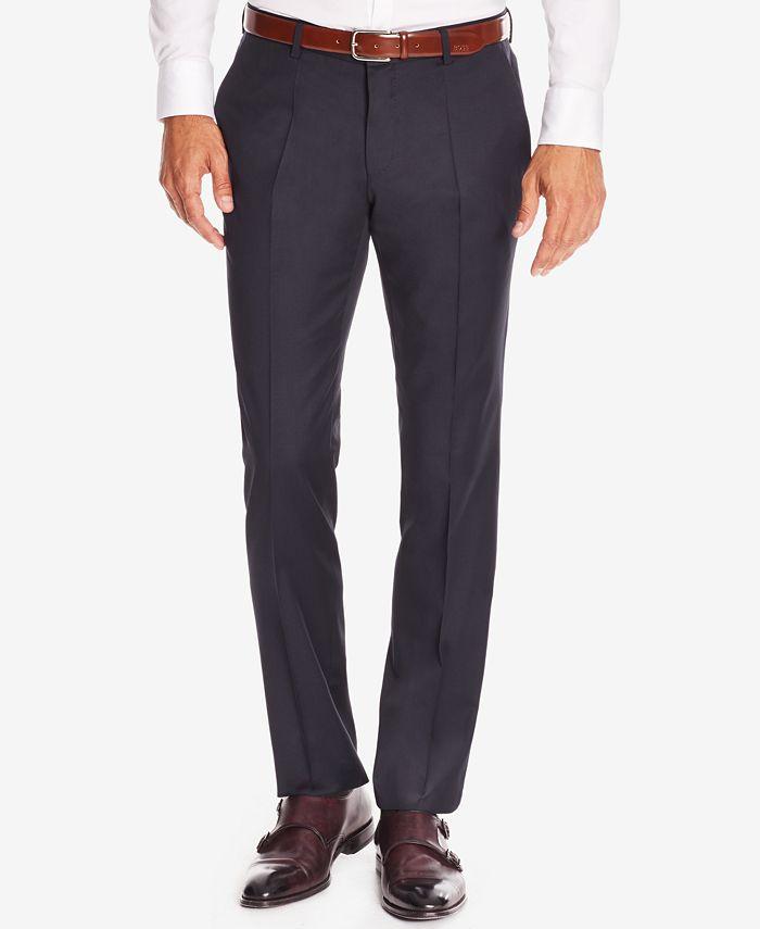 Hugo Boss - Men's Slim-Fit Virgin Wool Dress Pants