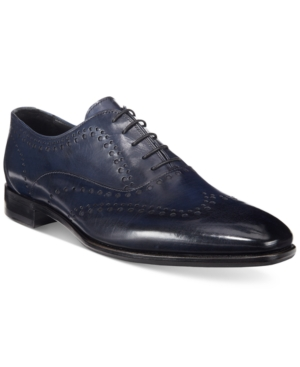 Roberto Cavalli Men's Brema Lazer Cut Oxfords Men's Shoes