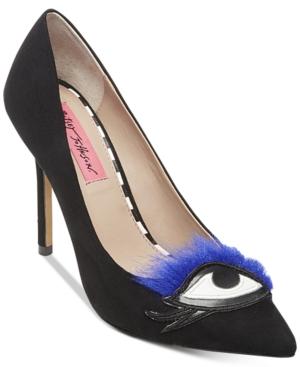 Betsey Johnson Poshhh Novelty Pumps Women's Shoes