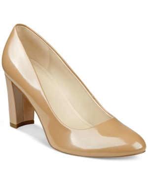 Marc Fisher Andee Block-Heel Pumps Women's Shoes