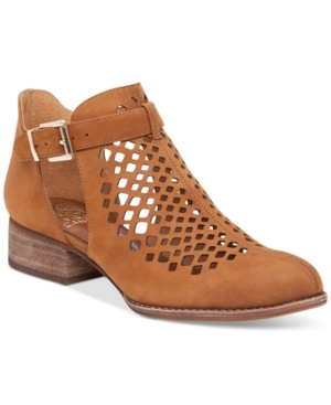 Vince Camuto Cadey Side-Cutout Booties Women's Shoes