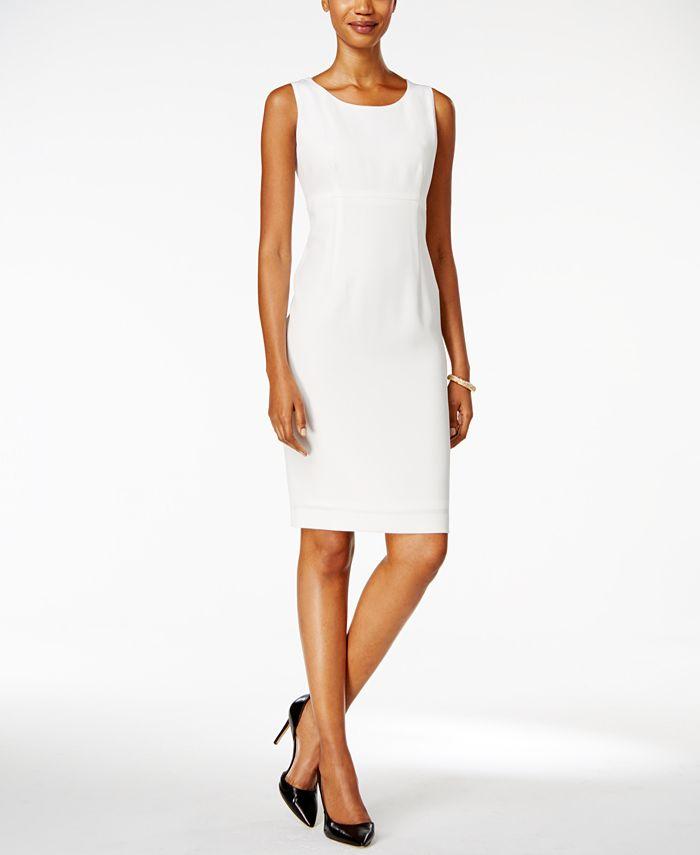 Kasper - Crepe Sheath Dress