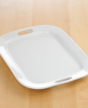 """The Cellar Whiteware Handled Rectangular Platter, 19"""""""