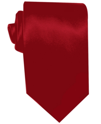 Geoffrey Beene Big and Tall Tie, Satin Solid