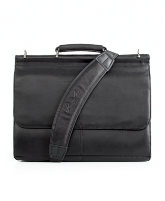 Kenneth Cole New York Laptop Bag, Berkeley Leather Briefcase