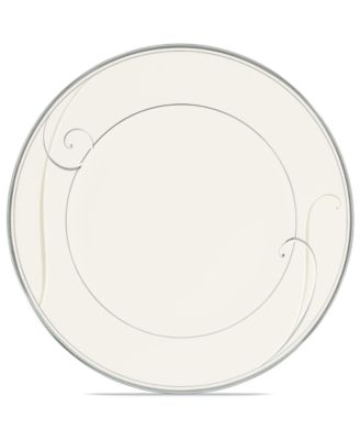 Noritake Dinnerware, Platinum Wave Salad Plate