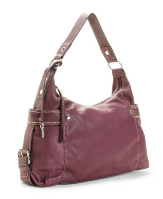 Fossil Handbag, Castille Hobo, Large - Leather Hobo Bag