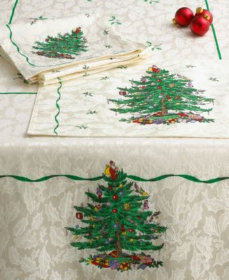 "Spode Christmas Tree 108"" Runner"