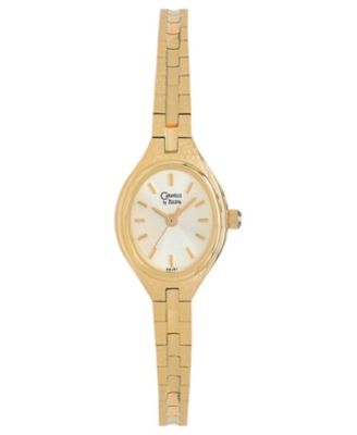 Caravelle by Bulova Watch, Women's Goldtone Bracelet 48J51