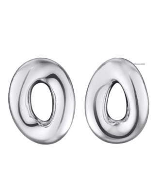 L'una Sterling Silver Extra-Large Signature Earrings