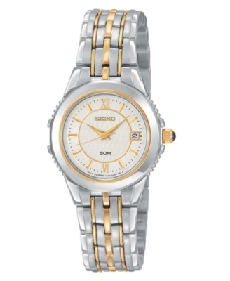 Seiko Watch, Women's Stainless Steel Bracelet SXDB16
