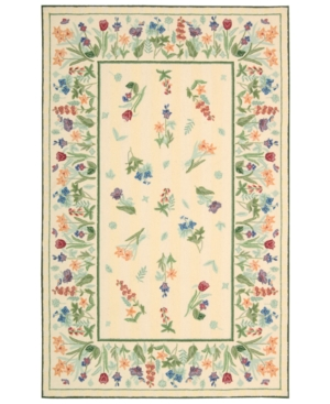 "Nourison ""Country Heritage"" H611 Ivory Area Rug, 8' x 11'"