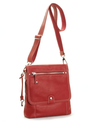 Fossil Handbag, Sutter Flap Crossbody Bag