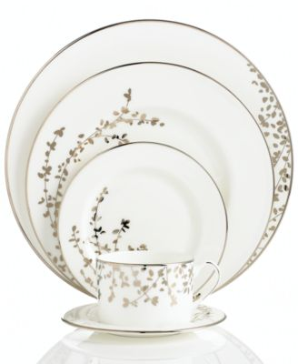 kate spade new york Gardner Street Platinum 5 Piece Place Setting