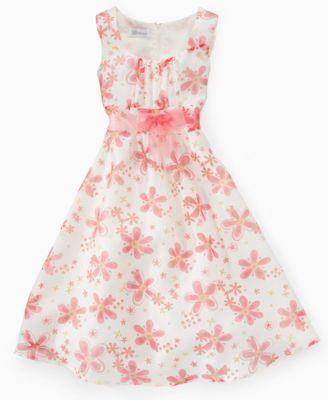 Bonnie Jean Girls Floral Dress
