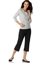 Style&co. Sport Hoodie & Drawstring Capri Pants