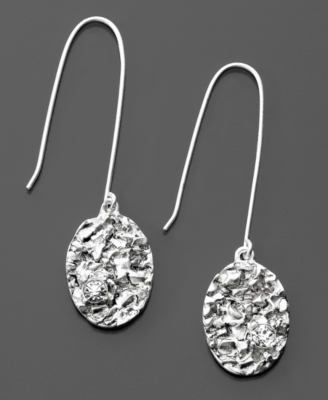 Kenneth Cole New York Silvertone Earrings