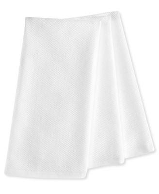 Martha Stewart Collection Pique Kitchen Towels Set of 3, White