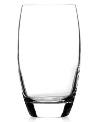 Luigi Bormioli Glassware, Crescendo Chip-Resistant Highball Glasses, Set of 4
