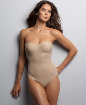 Flexees Body Briefer, Take Inches Off Firm Control Strapless Minimizer