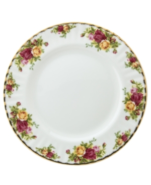 "Royal Albert ""Old Country Roses"" Dinner Plate, 10 1/4"""