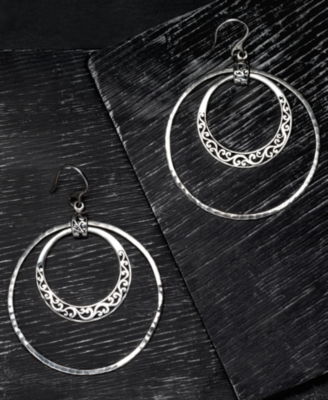 Sterling Dangle Earrings - Lois Hill