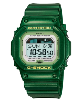 G-Shock Watch, Men's Green Resin Strap GLX5600-3