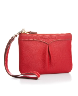 Leather Wristlet - Dooney & Bourke