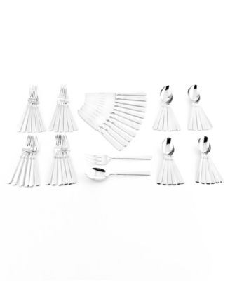 Zwilling J.A. Henckels Metrona 62 Pc Flatware Set, Service for 12