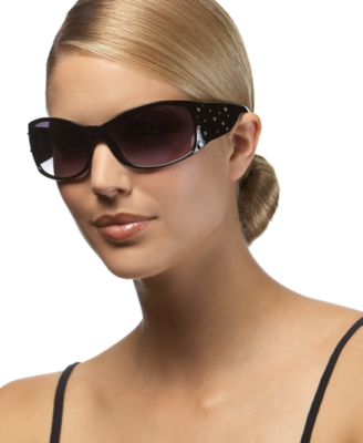 Steve Madden Studded Wrap Sunglasses