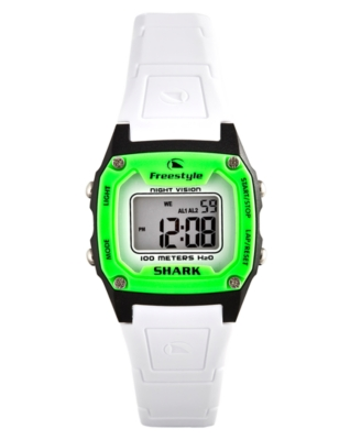 Freestyle Watch, Women's White Polyurethane Strap FS80980 - Sports Watches