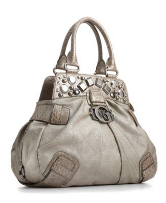 GUESS Handbag, Glamour Satchel