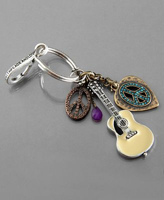 Lucky Brand Key Fob, Acoustic Rock