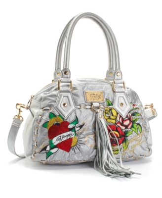 Ed Hardy Handbag, Baba Follies Betty Satchel
