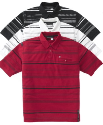 Rocawear Polo Shirt, Tegan Stripe