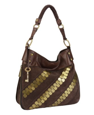 Fossil Fifty-Four Handbag, Whitney Bucket Bag