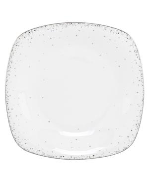 Lenox Lifestyle Dinnerware, Silver Mist Square Salad Plate