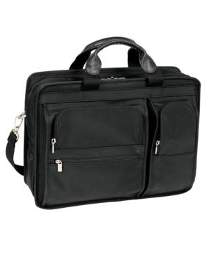 McKlein Laptop Case, Hubbard Double Compartment Laptop Friendly