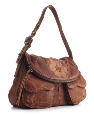 Lucky Brand Jeans Handbag, Patch Stash Hobo