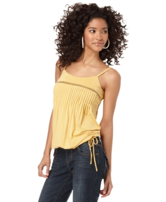 American Rag Top, Studded Pleated Tank