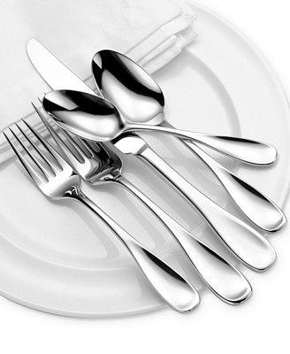 Oneida Voss 50-Piece Flatware Set - Flatware & Silverware - Dining ...