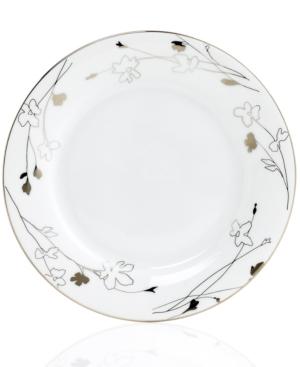 Charter Club Dinnerware, Grand Buffet Platinum Silhouette Round Salad Plate
